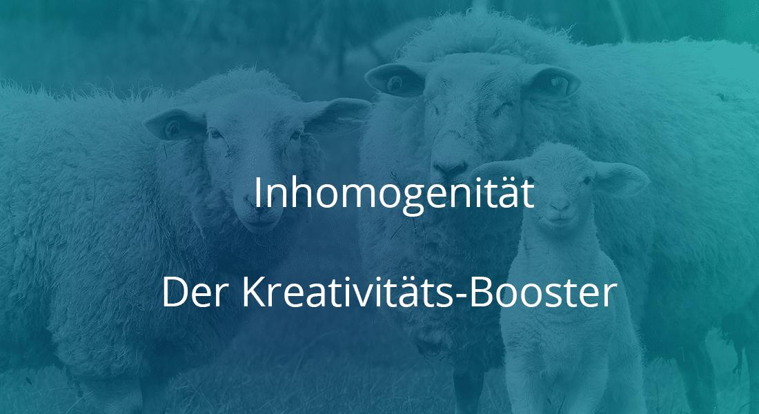 Inhomogenität Der Kreativitäts- Booster