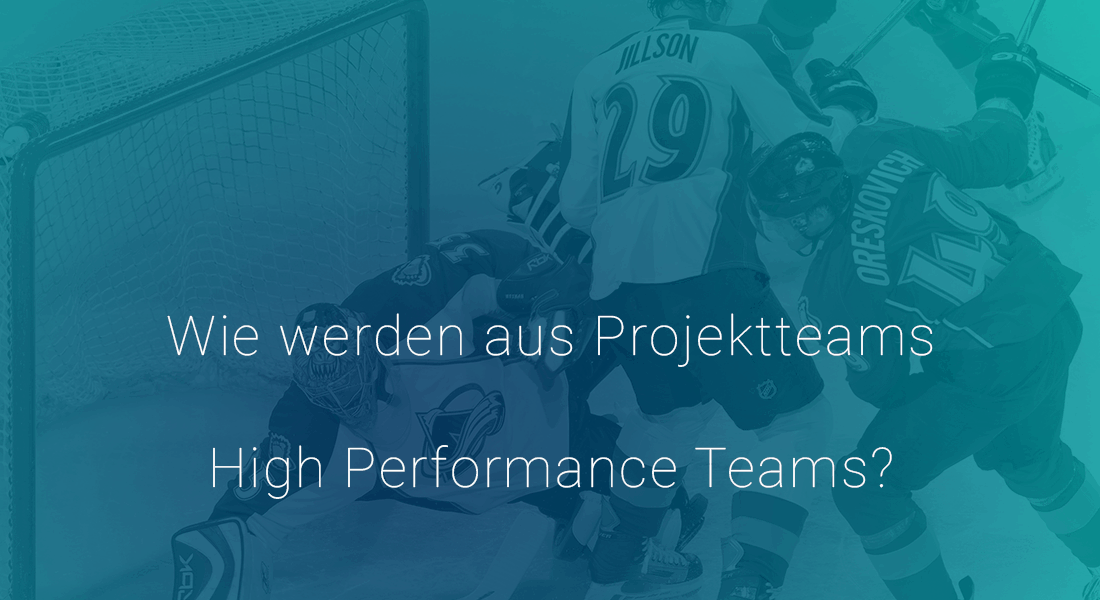 Wie werden aus Projektteams High Performance Teams?