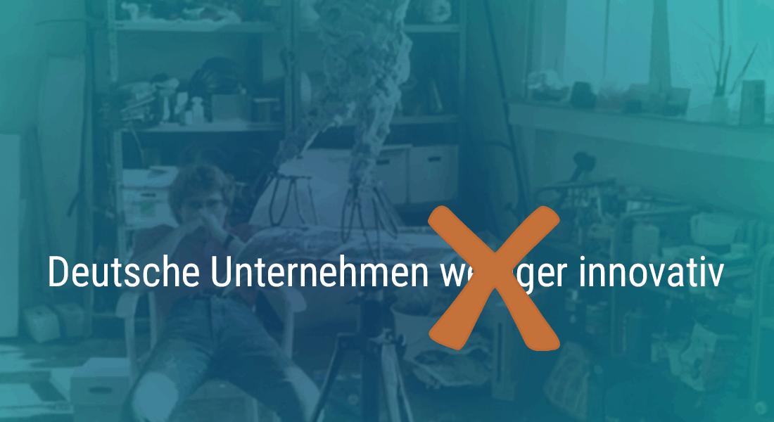 Deutsche Unternehmen weniger innovativ?