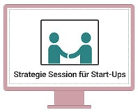 Einzel-Coaching Strategie-Session für Start-Ups